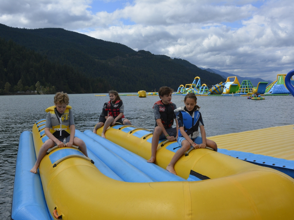 Harrison Hot Springs – Spirit Trail en Waterpark, 22 juli