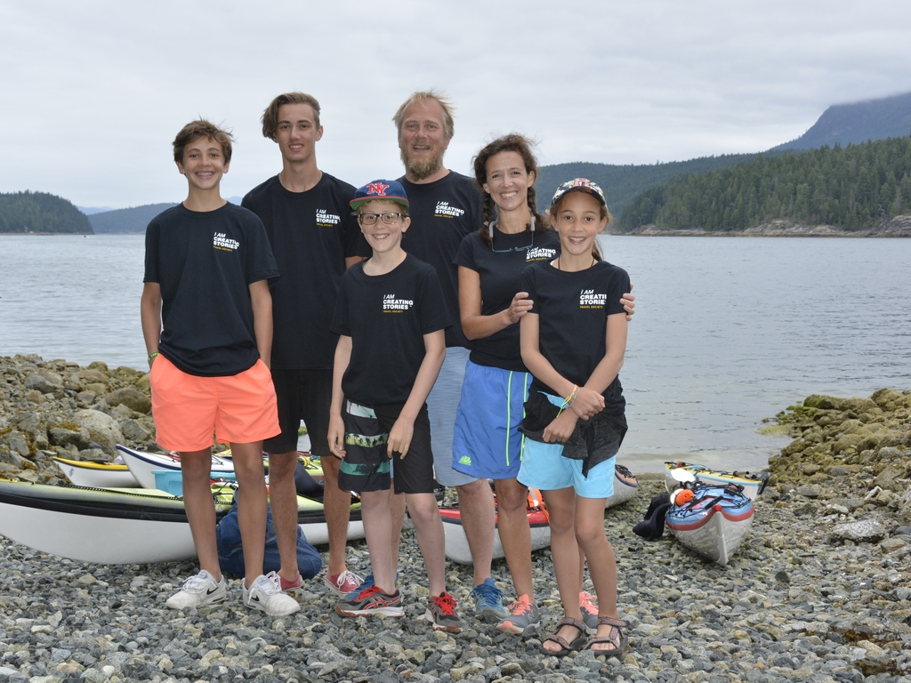 Kayakken en snorkelen – Desolation Sound (Powell River), 31 juli